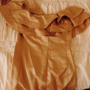 CHARLOTTE RUSSE SATIN PINK DRESS